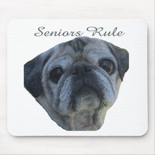 seniors rule mouse pads