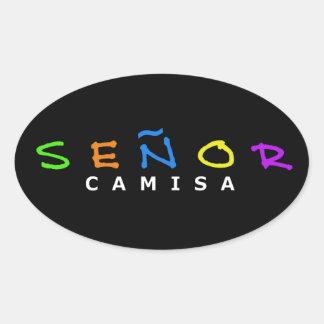 Señor Camisa Sticker