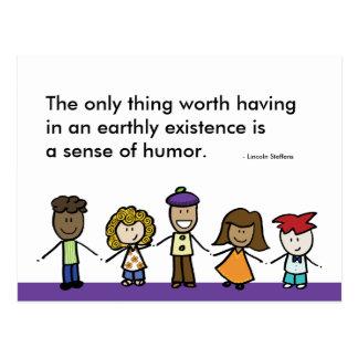 Sense of Humor Postcard
