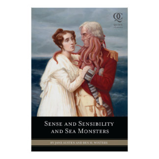 Sense Sensibility and Sea Monsters Cover Poster