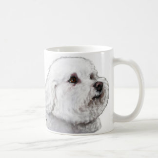 Sensitive Side of Bizou the Bichon Mug