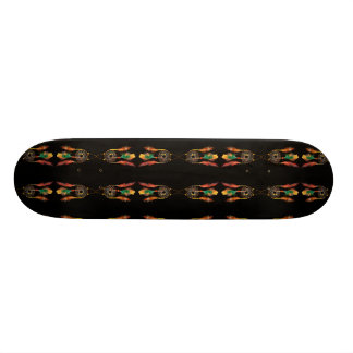 Sensors of dream skateboard deck
