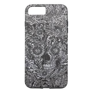 Sensory overload skull iPhone 7 plus case
