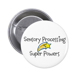 Sensory Power! Yellow Star Button