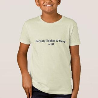 Sensory Seeker & Proud Of It! Organic T-shirt Kids