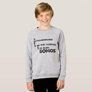 Sentences of films and games sweatshirt