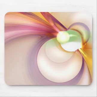 Sentiment of Kenetic Pastels Mouse Pad