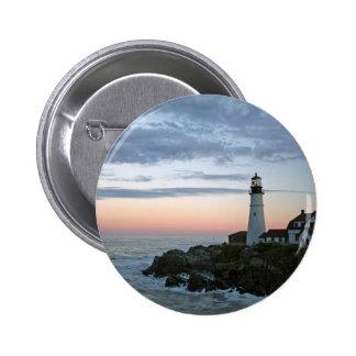 Sentinal at Sunset 6 Cm Round Badge