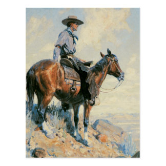 Sentinel of the Plains Postcard