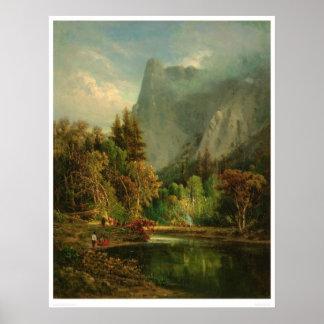 Sentinel Rock, Yosemite, California (0797A) Poster
