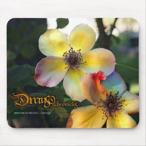 Sentinel Rose of Drauso mouse pad