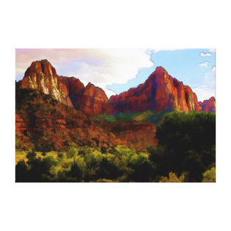 Sentinels II Canvas Print