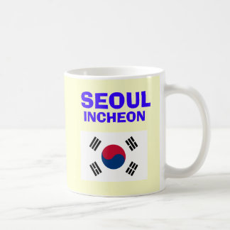 Seoul* Incheon Airport Mug