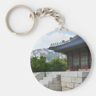 seoul korea photograph key ring