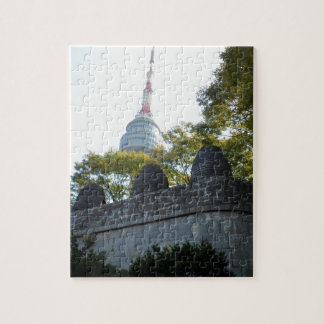 Seoul Namsan Tower through the Beacons Jigsaw Puzzle
