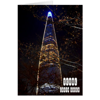 Seoul, South Korea Card