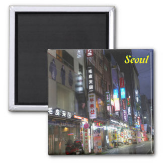Seoul, South Korea Magnet