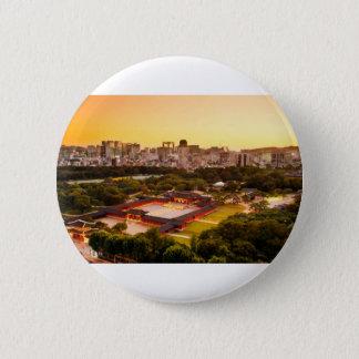 Seoul South Korea Skyline 6 Cm Round Badge