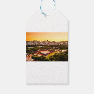 Seoul South Korea Skyline Gift Tags