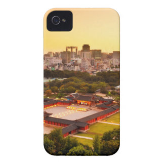 Seoul South Korea Skyline iPhone 4 Case-Mate Case