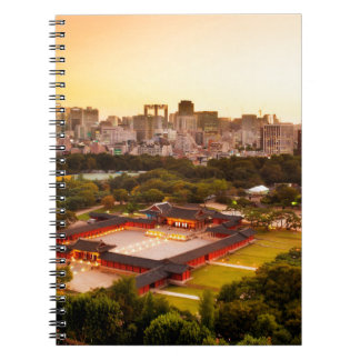 Seoul South Korea Skyline Notebook