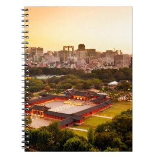 Seoul South Korea Skyline Notebooks