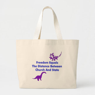 Separation of Church and State Canvas Bag