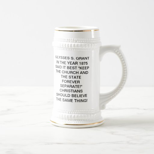 Separation of Church and State Mugs