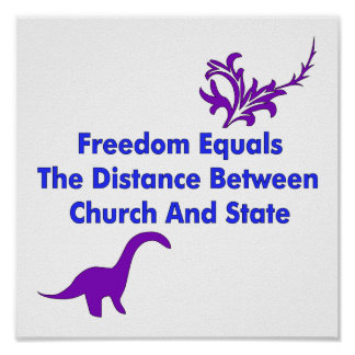 Separation of Church and State Print