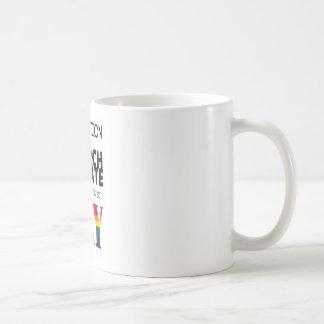 Separation of Church & State is so GAY Basic White Mug