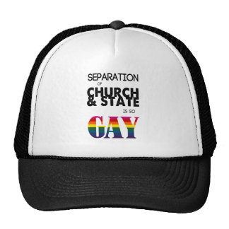 Separation of Church State is so GAY Trucker Hat