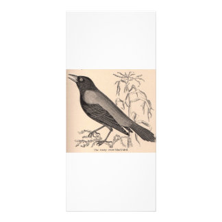 Sepia Crow Full Color Rack Card