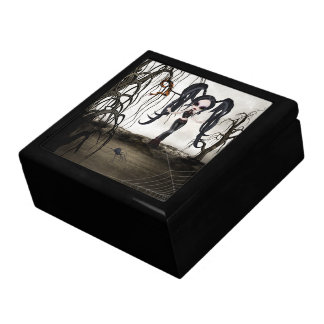 Sepia Goth Girl Gift Box