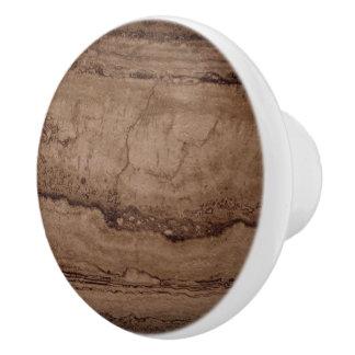 Sepia Granite Ceramic Knob