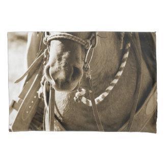 Sepia Horse Pillow Case