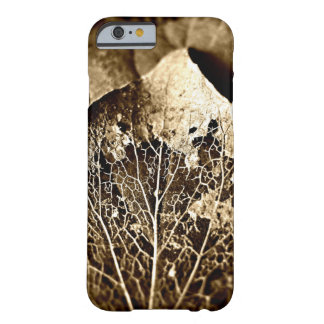 Sepia Leaf iPhone 6 case Barely There iPhone 6 Case