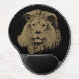 Sepia Lion Gel Mouse Pad