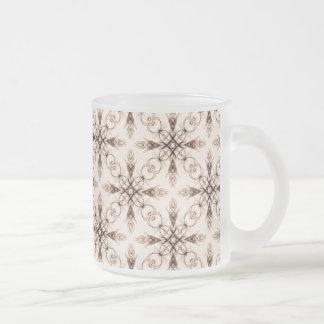 Sepia Neo Victorian Woodland Fractal Mugs