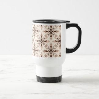 Sepia Neo Victorian Woodland Fractal Mug