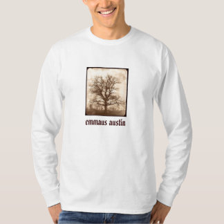 Sepia Oak Tree - Restore on back T-Shirt