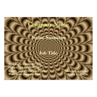 Sepia Pulse Pack Of Chubby Business Cards