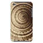 Sepia Seashell Abstract iPod Touch Case