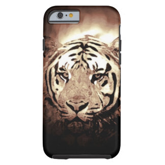 Sepia Tiger Tough iPhone 6 Case