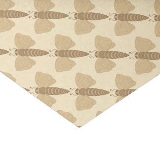 Sepia Tone Bees Tissue Paper