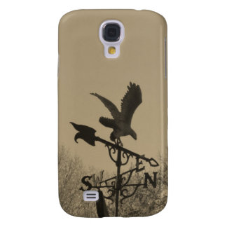 Sepia Tone Eagle Weather vane Samsung Galaxy S4 Cover