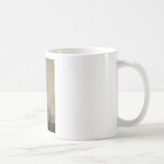 Sepia Tone Eagle Weather vane Classic White Coffee Mug