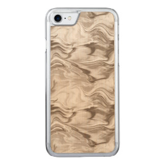 Sepia Watercolor Carved iPhone 8/7 Case