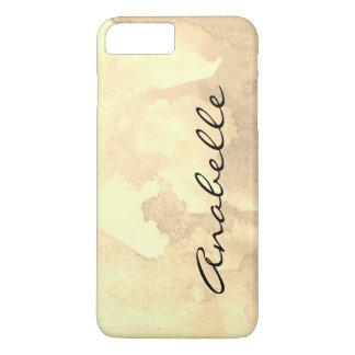 Sepia Watercolor Script iPhone 8 Plus/7 Plus Case