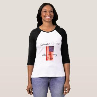 September 11, 2001 ladies t-shirt