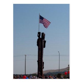 September 11 Memorial in Kennewick Washington Postcard